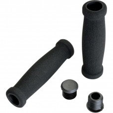 ATV FOAM GRIPS BLACK