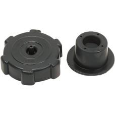 CAP GAS VENTED BLACK
