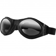 BOBSTER BUGEYE GOGGLES BLACK W/ SMOKED REFLECTIVE LENSES