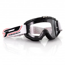 3201 RACE LINE OFFROAD GOGGLES BLACK LENS CLEAR