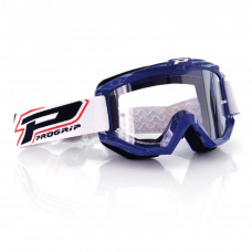 3201 RACE LINE OFFROAD GOGGLES BLUE LENS CLEAR