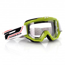 3201 RACE LINE OFFROAD GOGGLES GREEN LENS CLEAR