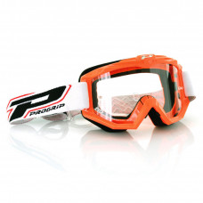 3201 RACE LINE OFFROAD GOGGLES ORANGE LENS CLEAR