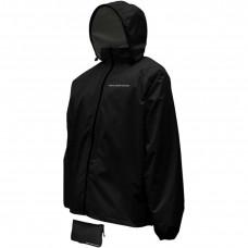 RAIN JACKET CMPCT BLK XL