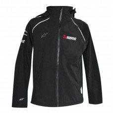 AKRAPOVIC-ALPINESTARS SOFT SHELL JACKET XL BLACK