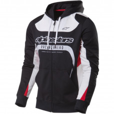 HOODY SESSION POLYESTER L BLACK