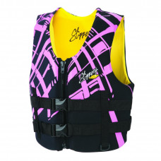SLIPPERY VEST ELECTRA NEO | BLACK & PINK | X-SMALL