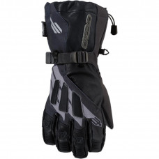 GLOVES LONG CUFF MERIDIAN TEXTILE BLACK X-LARGE