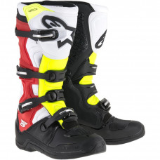 BOOT TECH 5 MICROFIBER BLACK / RED / YELLOW 15