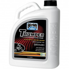 THUMPER RACING SYNTHETIC ESTER BLEND 4-STROKE ENGINE OIL 15W-50 4 LITER