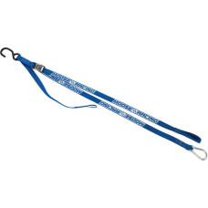 CARABINER TIE-DOWN 7' BLUE