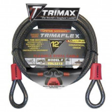 TRIMAX CABLE-LOCK TRIMAFLEX DUAL-LOOPS 12'