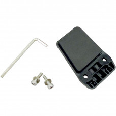 BACKPLATE FOR SPEAKER MICROPHONE CLAMP SMH10 BLACK